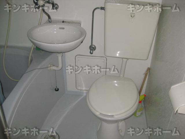 風呂、洗面所、トイレ