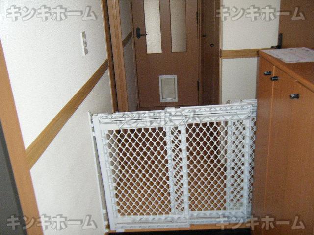 ペット侵入防止柵